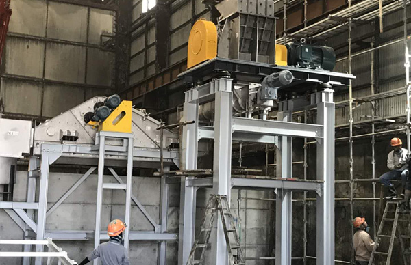BREAKING AND SEPARATION SYSTEMS EXPORTED TO JAPAN